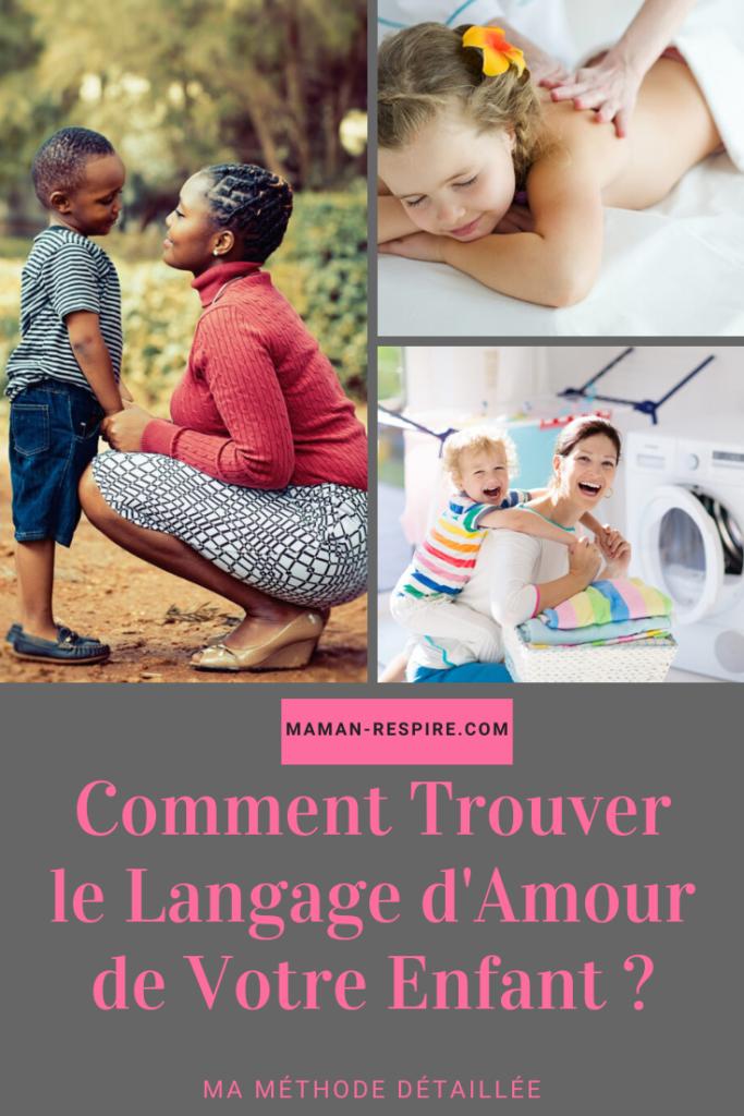 comment trouver le langage d'amour de votre enfant