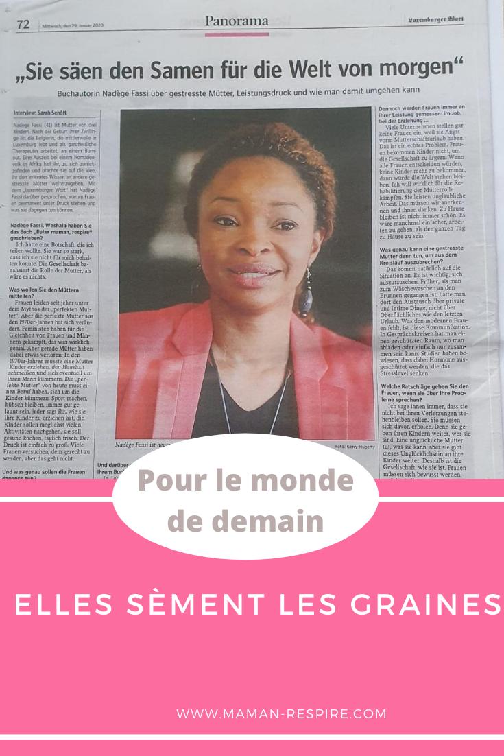 Interview Nadège Fassi