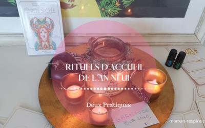 RITUELS D'ACCUEIL DU NOUVEL AN