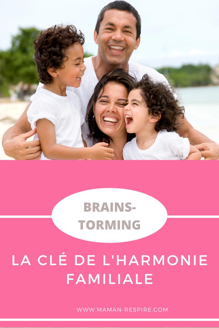 Brainstorming avec les enfants : le chemin vers l'harmonie familiale